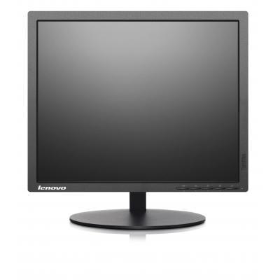 Lenovo monitor: ThinkVision T1714p - Zwart