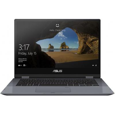 """ASUS VivoBook Flip TP412UA-EC069T 14"""" i3 8GB RAM 256GB SSD Laptop - Grijs"""