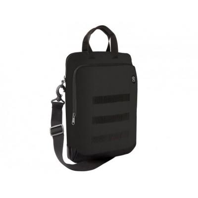 STM Ace Super Vertical Cargo Laptoptas - Zwart