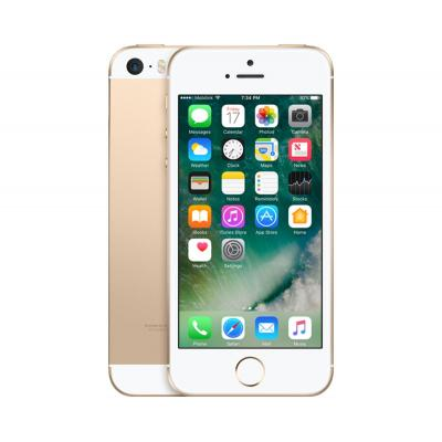2nd by renewd smartphone: iPhone SE - Goud 64GB (Refurbished ZG)