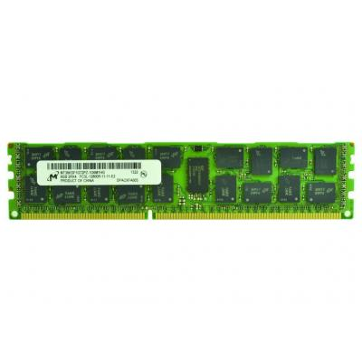 2-power RAM-geheugen: 8GB DDR3L 1600MHz ECC RDIMM 2Rx4 Memory - replaces CT5320924