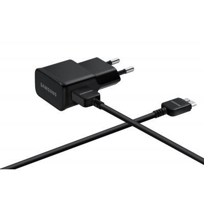 Samsung oplader: EP-TA10EBE - Zwart