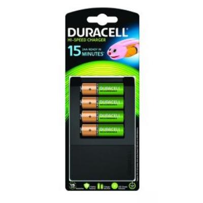 Duracell 15 Minute Charger Oplader - Zwart