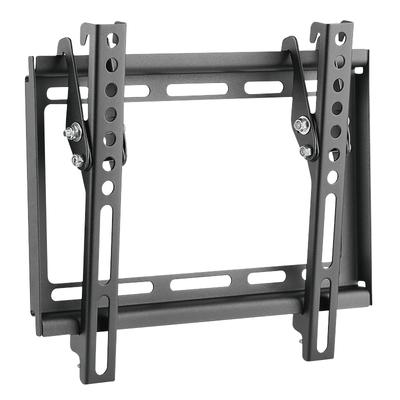 """LogiLink TV wall mount, tilt -8°/0°, 23–42"""", max. 35 kg Montagehaak - Zwart,Roestvrijstaal"""