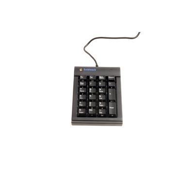 BakkerElkhuizen Goldtouch - numeric Toetsenbord - Zwart