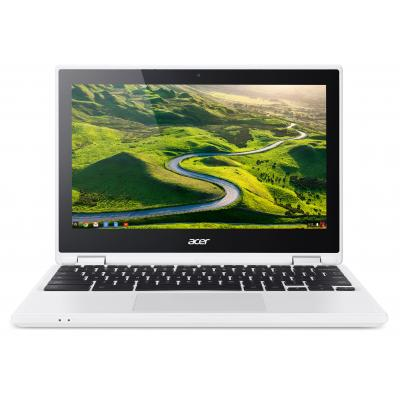 "Acer laptop: Chromebook R 11 CB5-132T-C7D2 - 11.6"" Celeron 4GB RAM 64GB Flash - Chrome OS - Zwart, Wit, QWERTY"