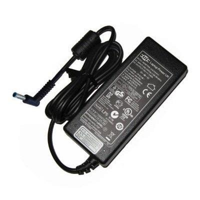 Hp oplader: Smart AC power adapter 45W, 4.5mm barrel connector (Power Cord not Included) - Zwart