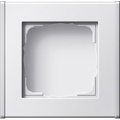 GIRA Profiel 55 voor verticale en horizontale installatie enkelvoudig - Wit