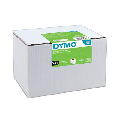 DYMO LW - Standard Address Labels - 28 x 89 mm - S0722360 Etiket - Wit