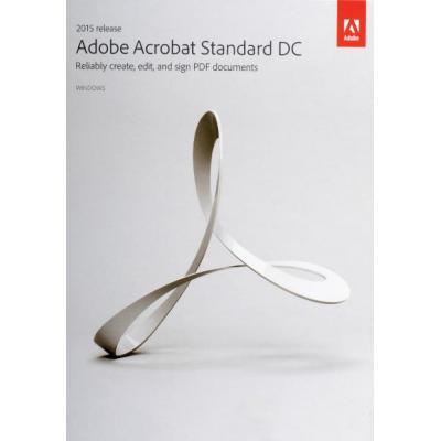 Adobe desktop publishing: Acrobat Standard DC 2015