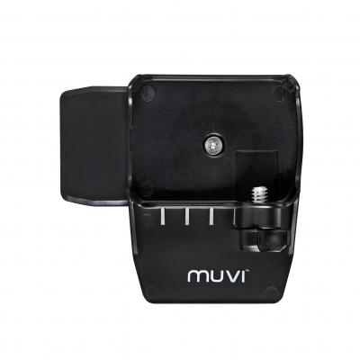 Veho houder: MUVI K-Series Spring Clip for Body Mounting - Zwart