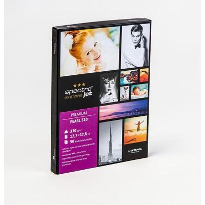 Tetenal fotopapier: SpectraJet Premium Pearl 310gsm 7x5 50 Sheets