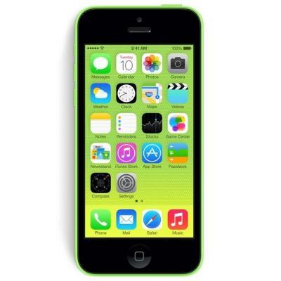 2nd by renewd smartphone: iPhone 5c - Groen 8GB (Refurbished ZG)
