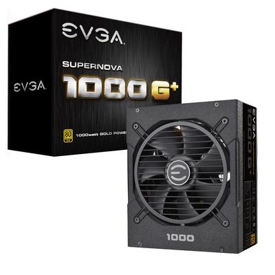 EVGA SuperNOVA 1000 G+ Power supply unit - Zwart