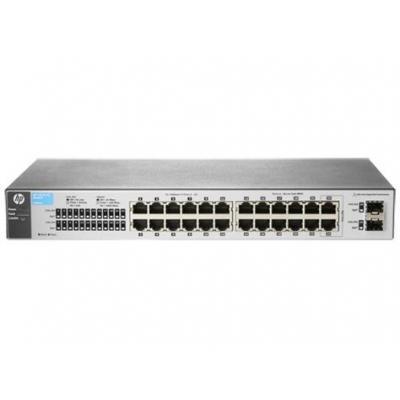 Hewlett packard enterprise switch: V OfficeConnect 1810-24 v2 - Grijs
