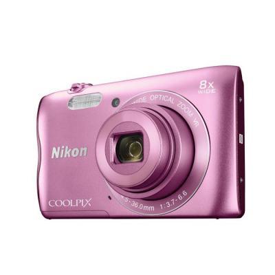 Nikon digitale camera: COOLPIX A300 - Roze