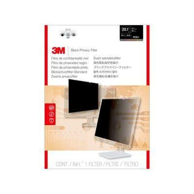 "3M Privacy Filter for Desktop LCD Monitor 51.054 cm (20.1"") Schermfilter - Transparant"