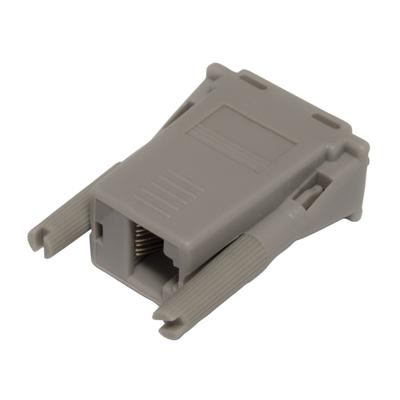 Hewlett Packard Enterprise HPE RJ45-DB9 DCE Female Serial Adapter Kabel adapter - Grijs