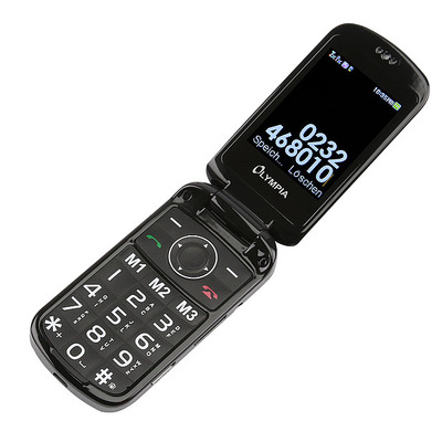 Olympia Brava Plus Mobiele telefoon - Zwart