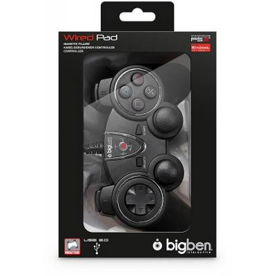Bigben interactive game controller: Controller, PS3 / PC - Zwart