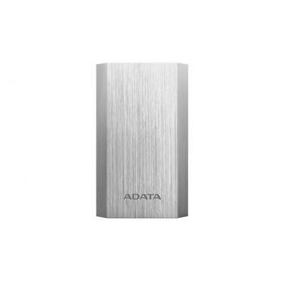 Adata powerbank: A10050 - Zilver