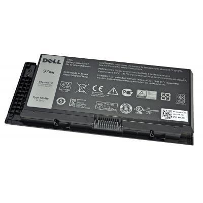 Dell batterij: 97Wh, 9-cell, Li-Ion, 11.1V, 8.55Ah, M4800/M6800 - Zwart