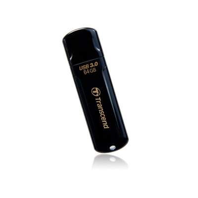 Transcend JetFlash elite 700 64GB USB 3.0 USB flash drive - Zwart