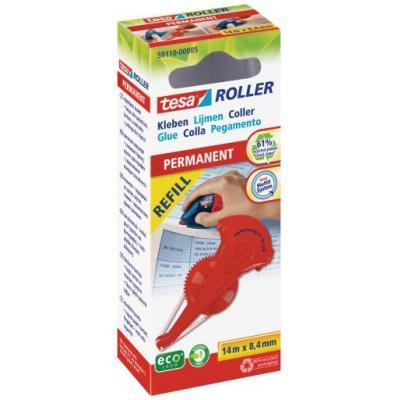 Tesa lijm: Roller - Rood
