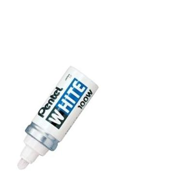 Pentel markeerstift: White Marker - Zilver