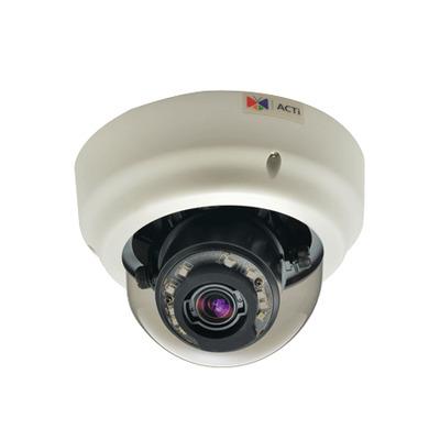 ACTi B61 Beveiligingscamera - Zwart, Wit