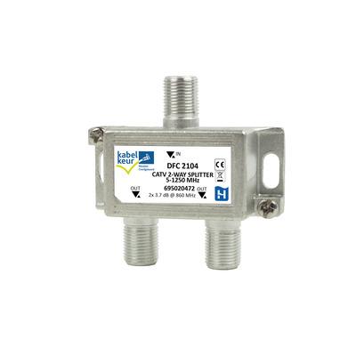 Hirschmann DFC 2104 Kabel splitter of combiner - Metallic