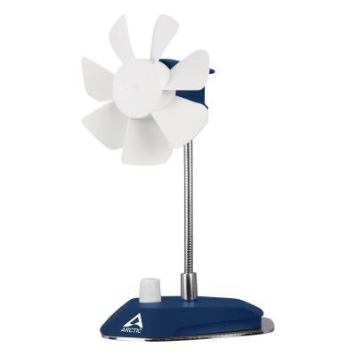 Arctic ventilator: 92mm, 1800 RPM, 96x100x186mm, 265g, White/Blue - Blauw, Wit