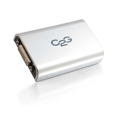C2G USB/DVI Interfaceadapter - Grijs