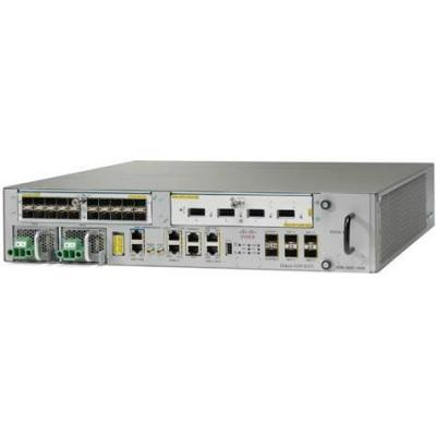 Cisco netwerkchassis: ASR 9001 - Grijs