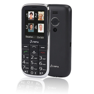 Olympia Joy II mobiele telefoon - Zwart