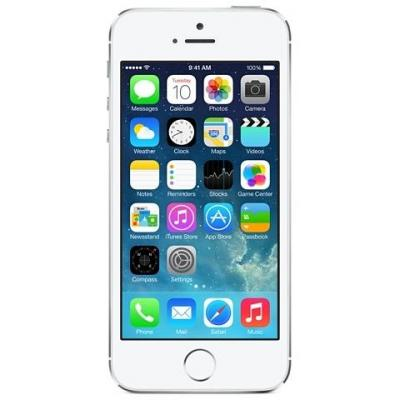 Apple smartphone: iPhone 5s 64GB - Silver | Refurbished | Als nieuw