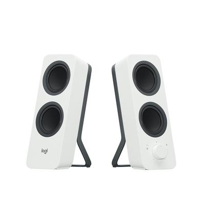 Logitech Speaker: Z207 Bluetooth computer speakers - Wit
