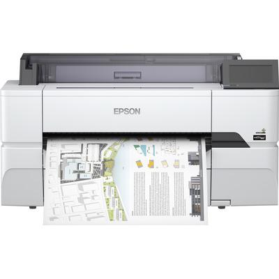 Epson SureColor SC-T3400N - Wireless Printer (No Stand) Grootformaat printer - Mat Zwart,Cyaan,Geel,Magenta