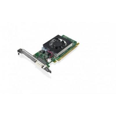 Lenovo videokaart: GeForce 605 1GB DMS59 Graphics Card (incl. DMS59 - Dual-DVI adapter and 2x DVI-VGA dongle)