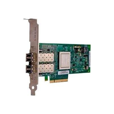 Dell netwerkkaart: QLogic 2562 twee poorten 8Gb Optical Fibre Channel HBA PCIe (laag profiel) - Kit