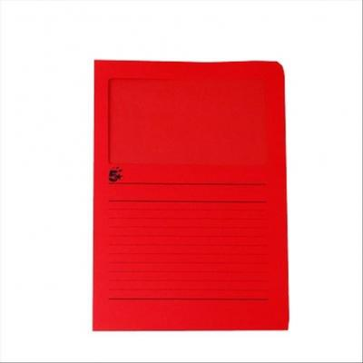 5star map: A4 (22 x 31cm), 120g/m2 - Rood