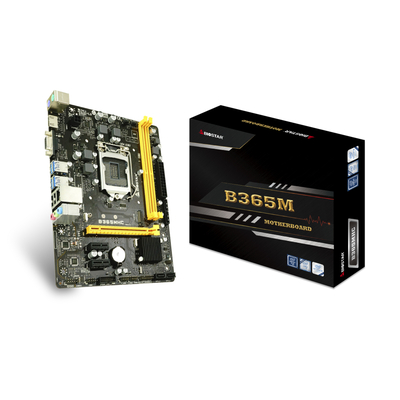 Biostar B365MHC, Intel B365, LGA1151, M.2 32Gbps, PCI Express, HDMI,VGA, Gigabit Ethernet, 2 x USB 2.0, 4 x USB .....