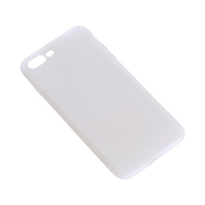Sandberg Cover iPhone 7/8 Plus soft White Mobile phone case - Wit