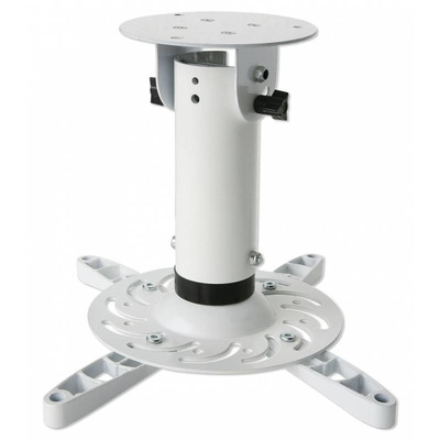 Techly Bracket Universal Projector Ceiling White Projector plafond&muur steun - Wit