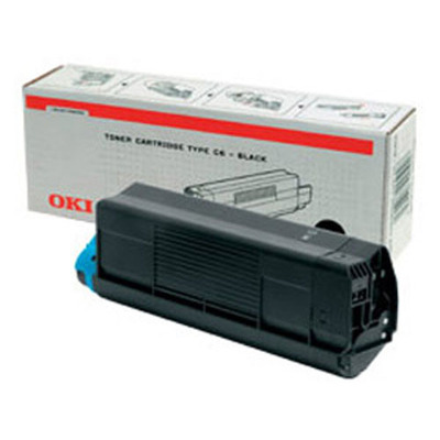 OKI cartridge: Zwart Toner Cartridge voor C3200