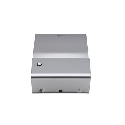 "LG 1280 x 720px, 450 lm, 100000:1, 30 dB, 40 - 203.2 cm (80"") , 1W + 1W RMS, HDMI, USB, 3.5 mm, 1.1 kg Beamer - Zilver"