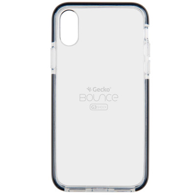 Backcover Bounce iPhone Xs Max - Zwart / Black Mobile phone case