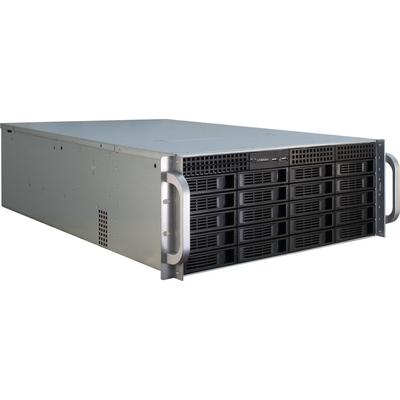 Inter-Tech IPC 4U-4420 Behuizing - Blauw, Roestvrijstaal