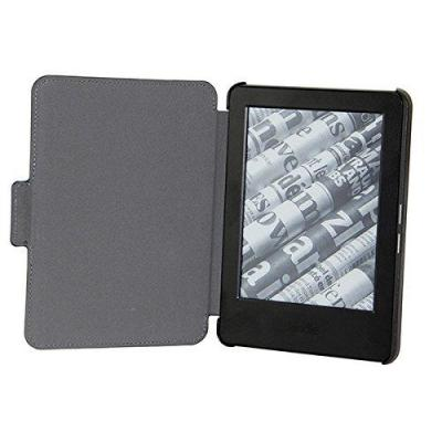 Gecko covers e-book reader case: Folio case for Amazon Kindle Slim-Fit, Black/Blue - Zwart, Blauw