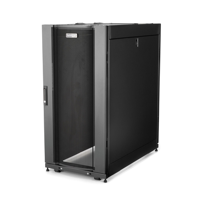 StarTech.com 25U serverkast server behuizing 89 cm diep Rack - Zwart